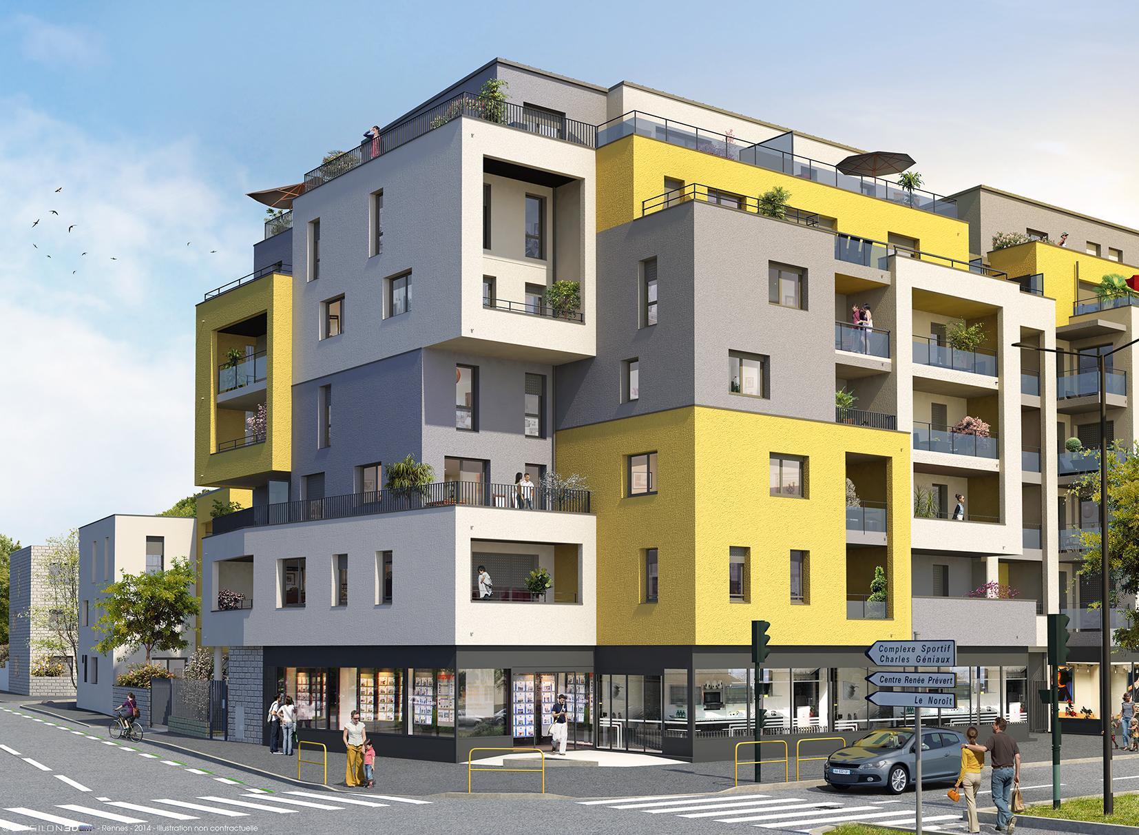 appartement vendre rennes 35700 annonces et prix de vente. Black Bedroom Furniture Sets. Home Design Ideas