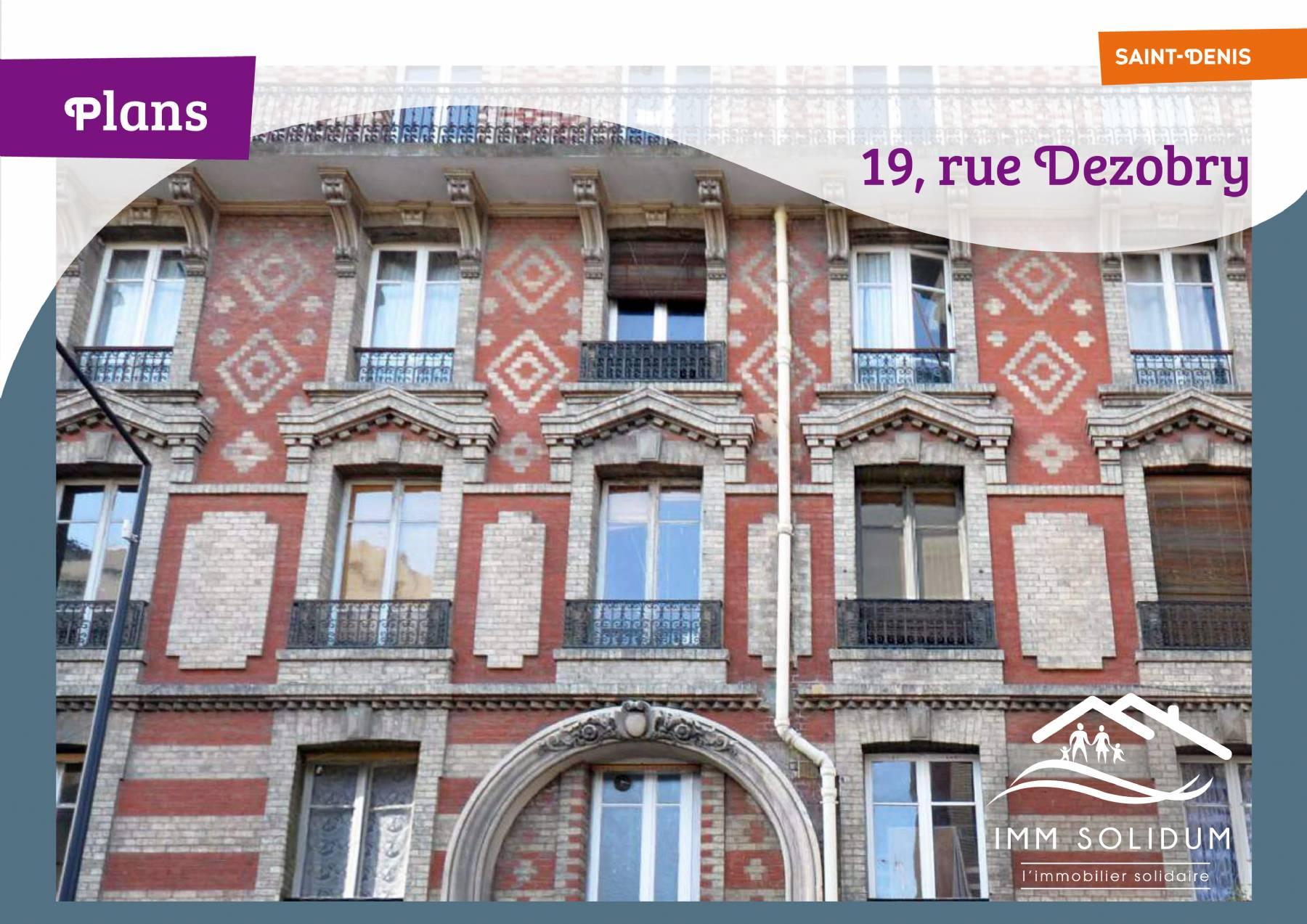 Achat-Vente-4 pièces et +-Ile-De-France-SEINE SAINT DENIS-St-Denis