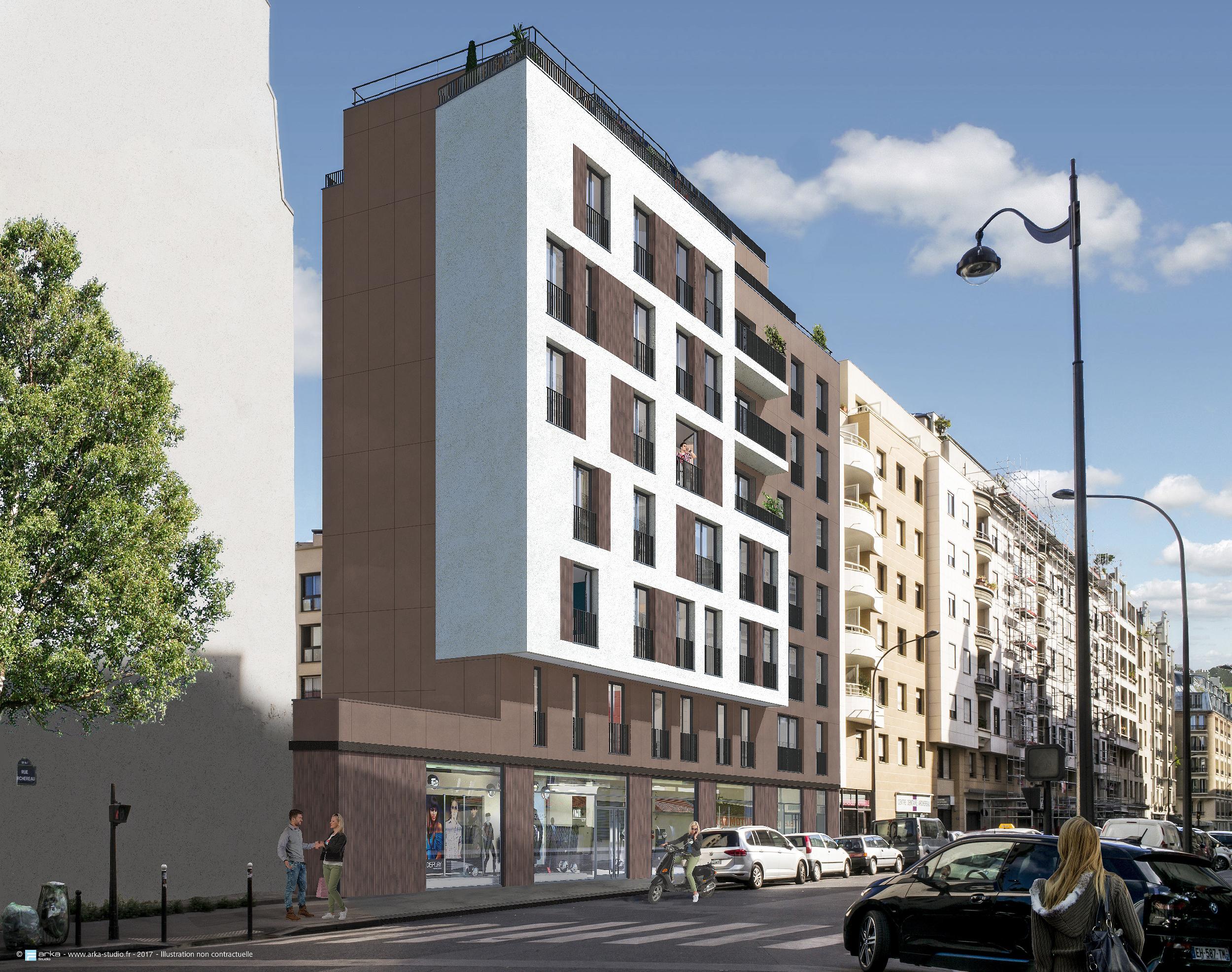 Achat-Vente-3 pièces-Ile-De-France-PARIS-Paris 19ème